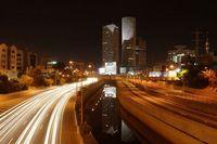Tel aviv ayalon by night