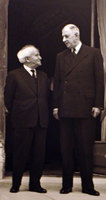 David Ben Gurion et Charle de Gaulle