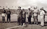 L'ambassadeur et le footballeurs de Tsahal