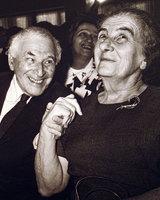 La complicité de Golda Meir et de Marc Chagall