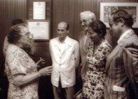 La PM Golda Meir et la Ministre de la Santé Simone Weil