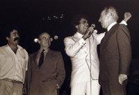 Shimon Pérès, Enrico Macias et Amir Péretz