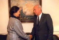 Simone Weil et Yitzhak Rabin