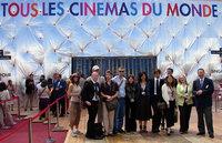 Equipe des courts métrage en présence de Tali Sharon et de l'Ambassadeur Rafael barak