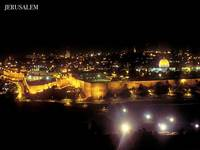 Thanks to jerusalemonline.com & Duby Tal - Jerusalem by night