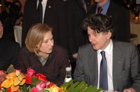 Tzipi Livni et Thierry Breton