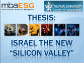 Thesis Israel The New Silicon Valley