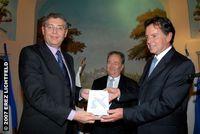 Remise des Trophées, Shimon Gruper, Vice-Président SALES ET TECHNOLOGY d'Aladdin