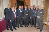 Avec Michel Pébereau, Président de BNP PARIBAS