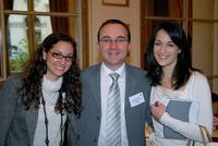 Déborah Garzon (CCFI), Anthony Pattou et Gaelle Mamann (Dept Commercial de l'Ambassade d'Israël en France)