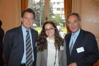 André Maarek, Déborah Garzon, Michel Hauser-Kauffmann (CCFI)