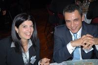 Katrin Melamed (IEIC) et Nathan Tsror (Dept Commercial de l'Ambassade d'Israël en France)