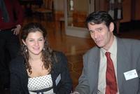 Jennifer Zysman (JCC) et Brett Kline (Journaliste JTA)