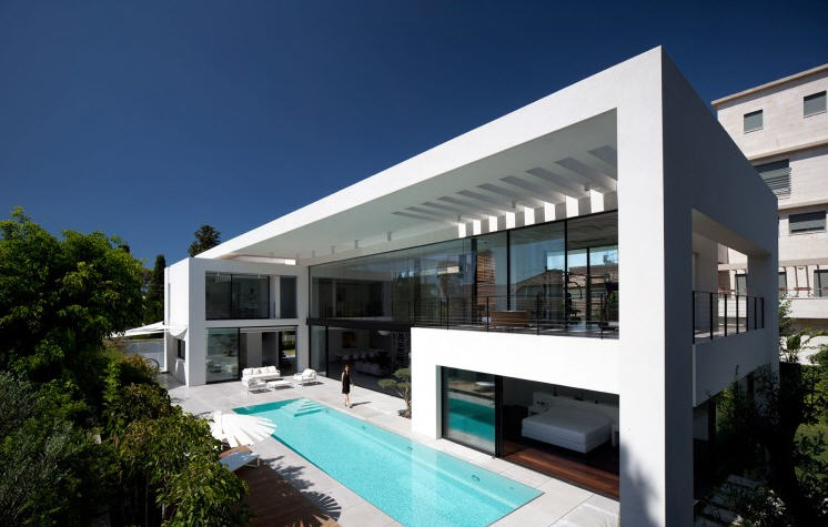 Awesome Maison Moderne De Luxe Images - Awesome Interior Home ...